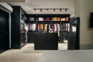 Walk In wardrobe interior design