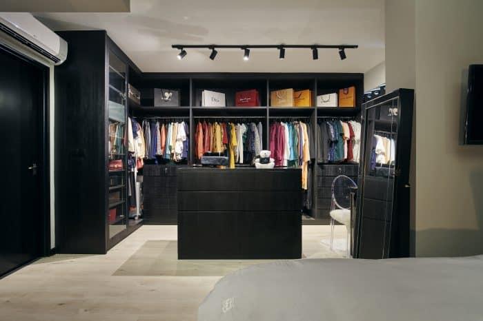 Walk In wardrobe interior design